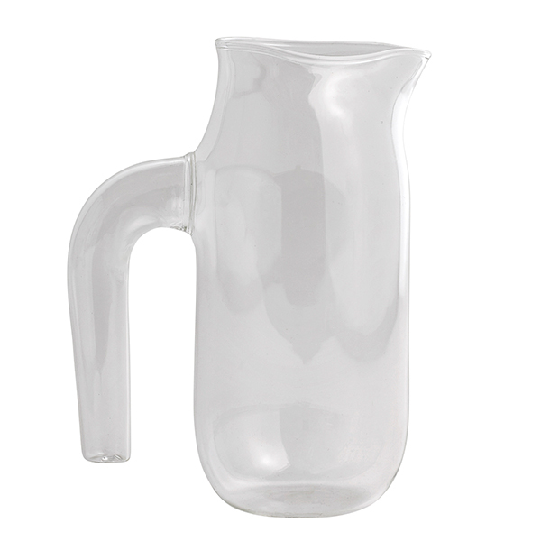 Hay Jug with handle, L, clear