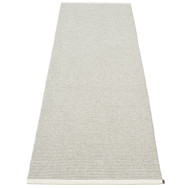 Pappelina Tappeto Mono, 85 x 260 cm, fossil grey