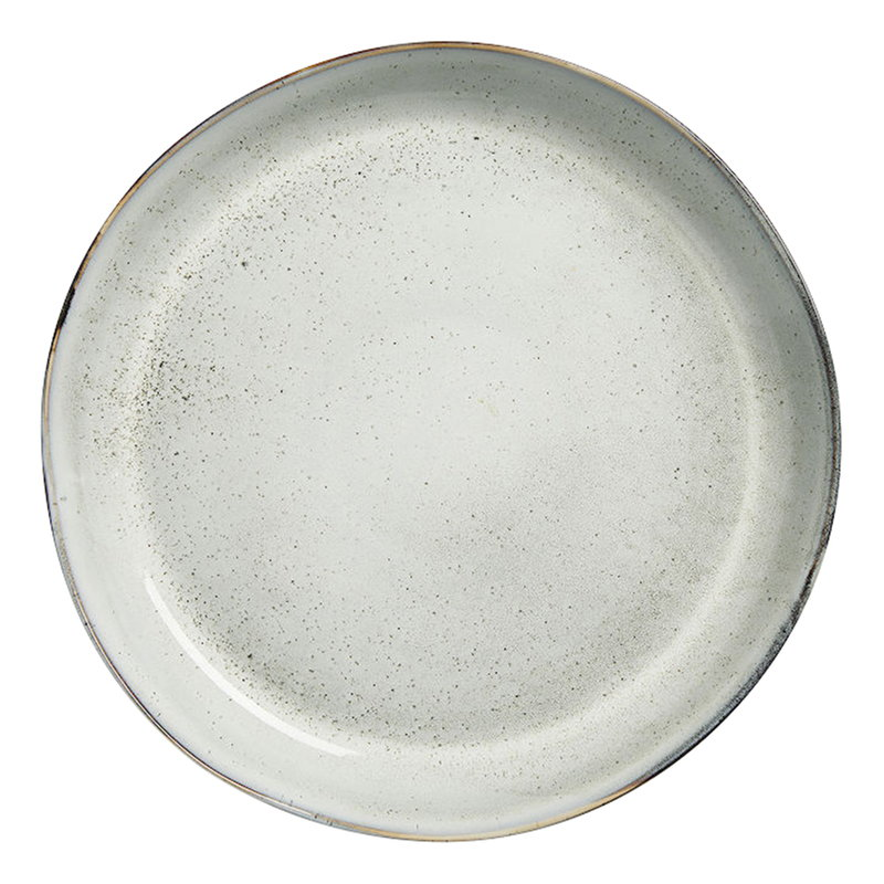 Sagaform Nature serving plate, light grey