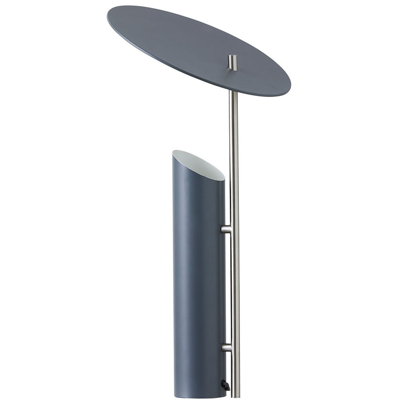 Verpan Reflect table lamp, grey