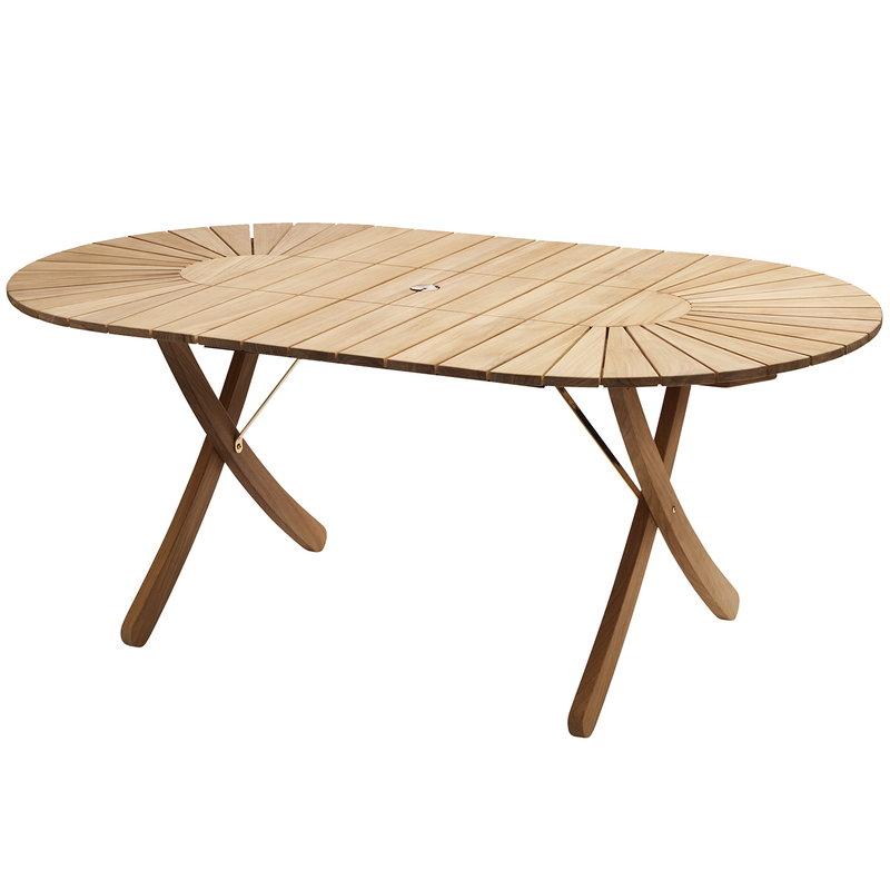 Skagerak Selandia pöytä 180 x 100 cm, jatkettava