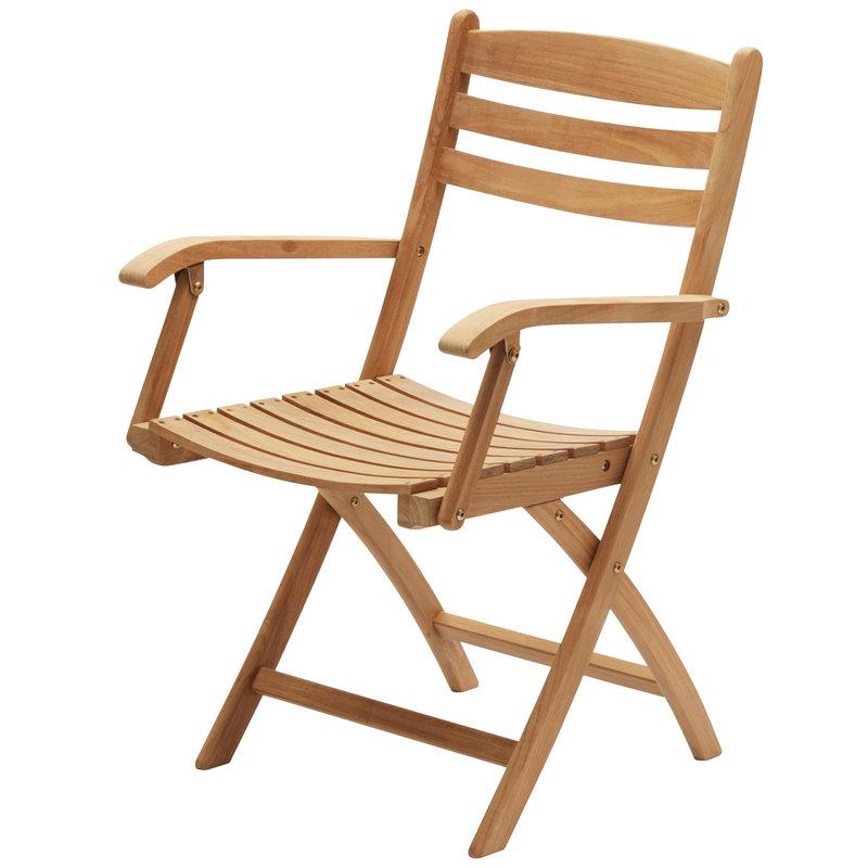 Skagerak Selandia tuoli käsinojilla