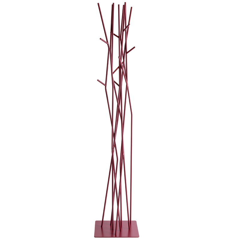 Covo Latva coat stand, purple red
