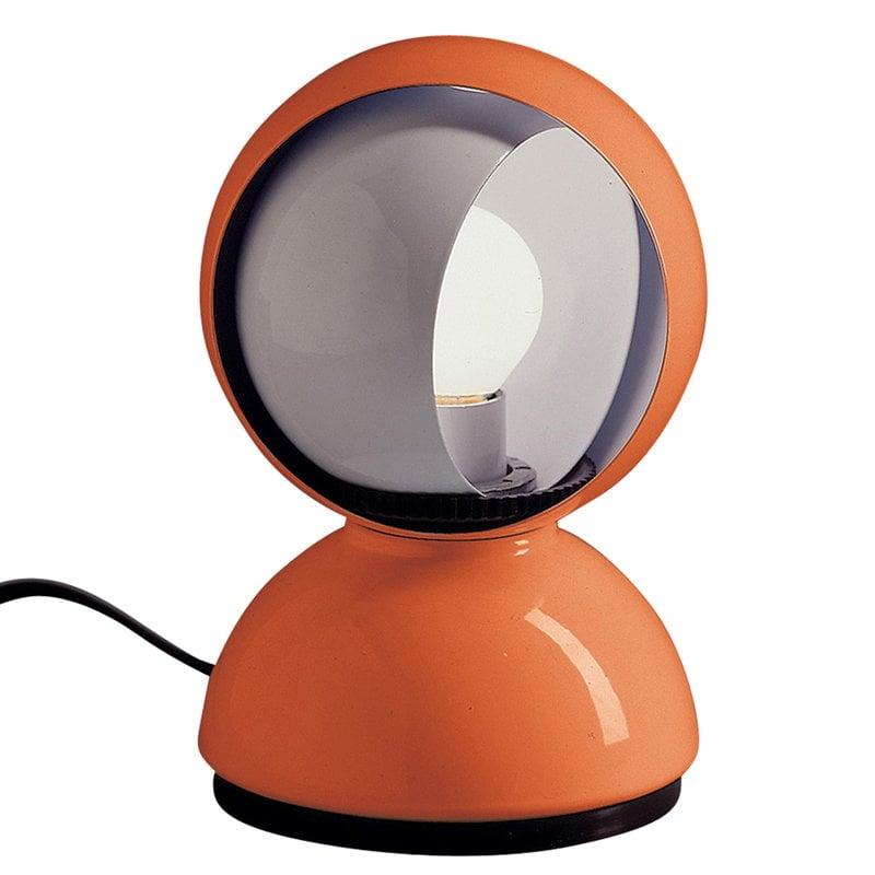 Artemide Lampada da tavolo/parete Eclisse, arancione