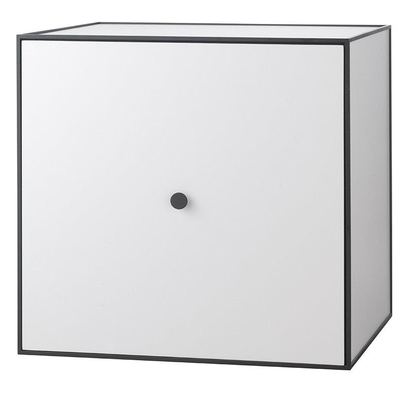 By Lassen Frame 49 box with door, light grey