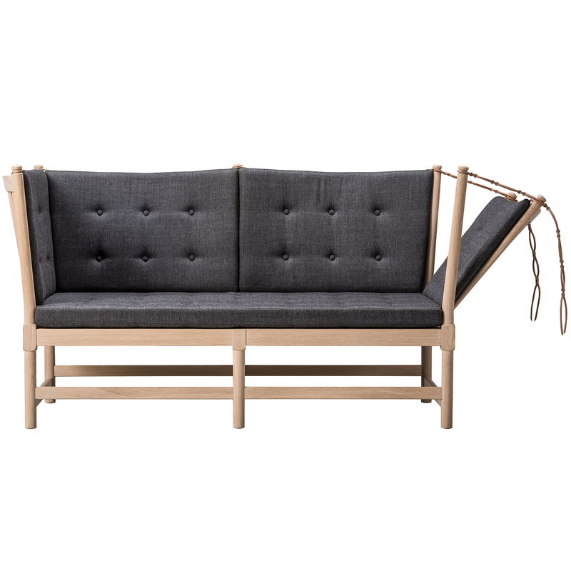 Fredericia Spoke-Back sofa, soaped oak - Canvas 174