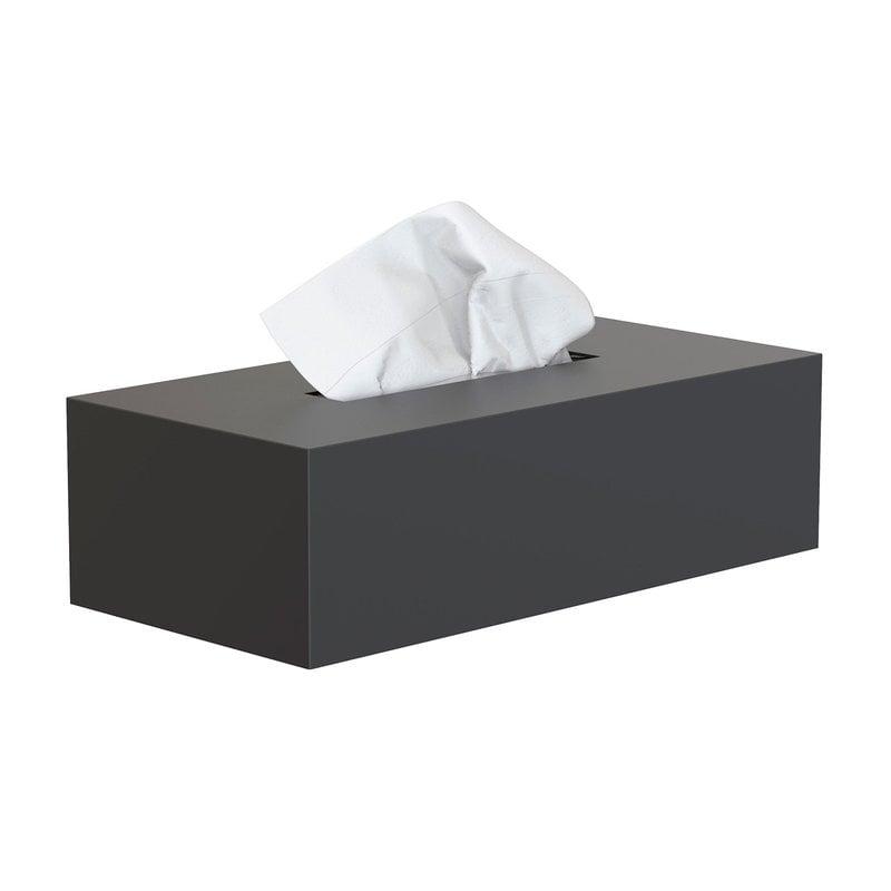 Frost Nova2 tissue box, black