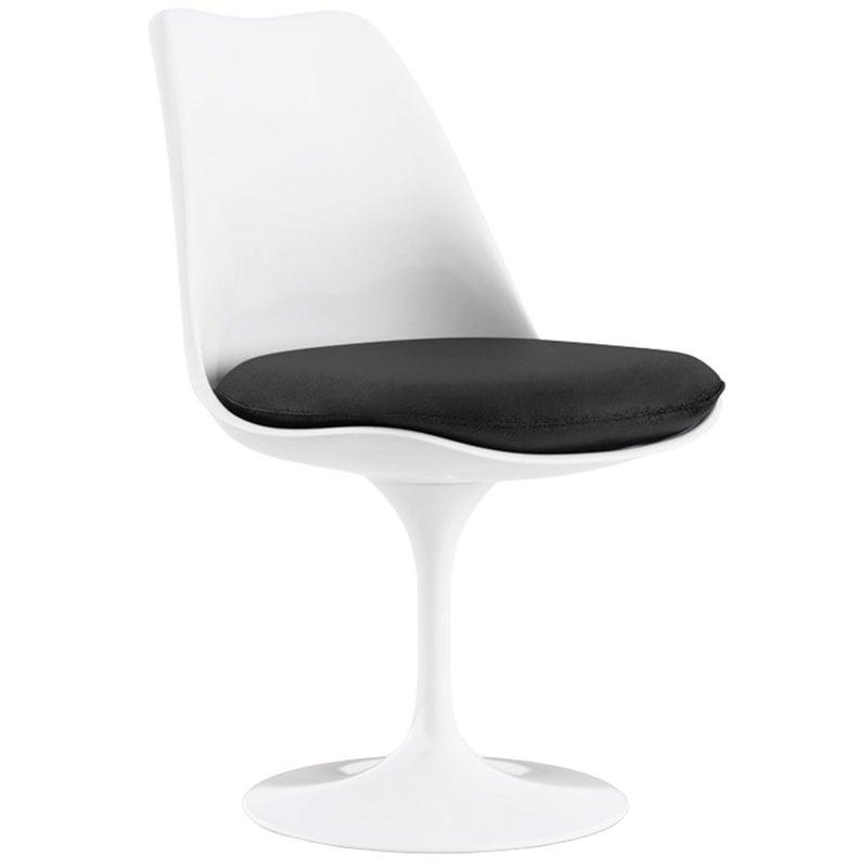 Knoll Tulppaani tuoli, pyörivä, valkoinen - Tonus 128