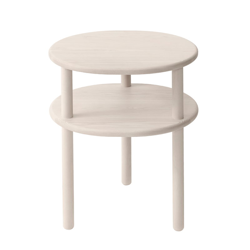 Matri Lempi bedside table, ash