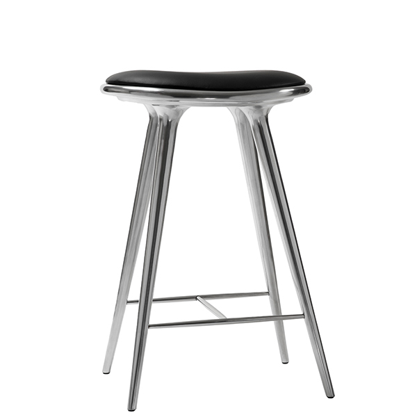 Mater High Stool, 69 cm, aluminium
