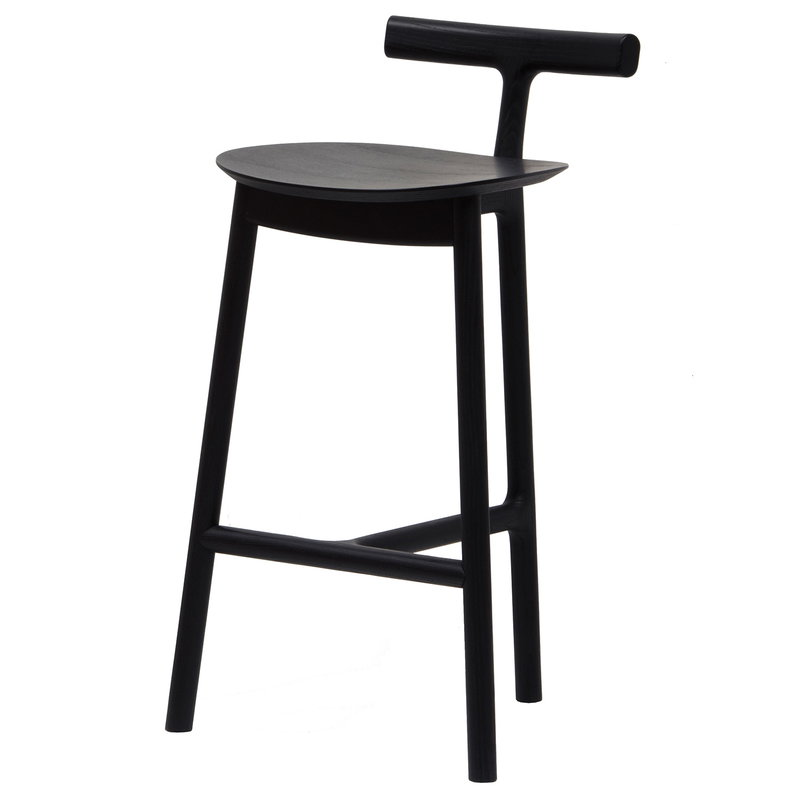 Mattiazzi Radice bar stool 65 cm, black