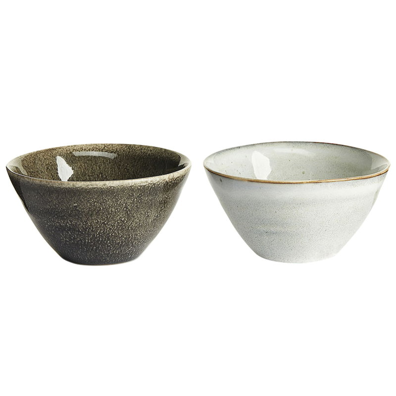 Sagaform Nature serving bowl, small, set of 2