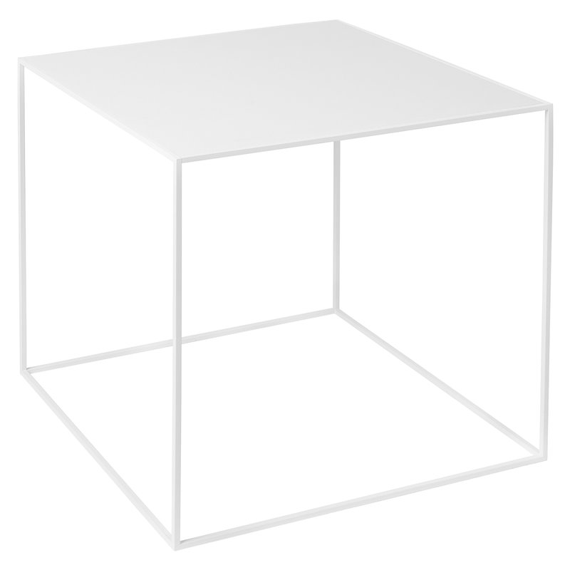 By Lassen Twin 42 table white, white/oak