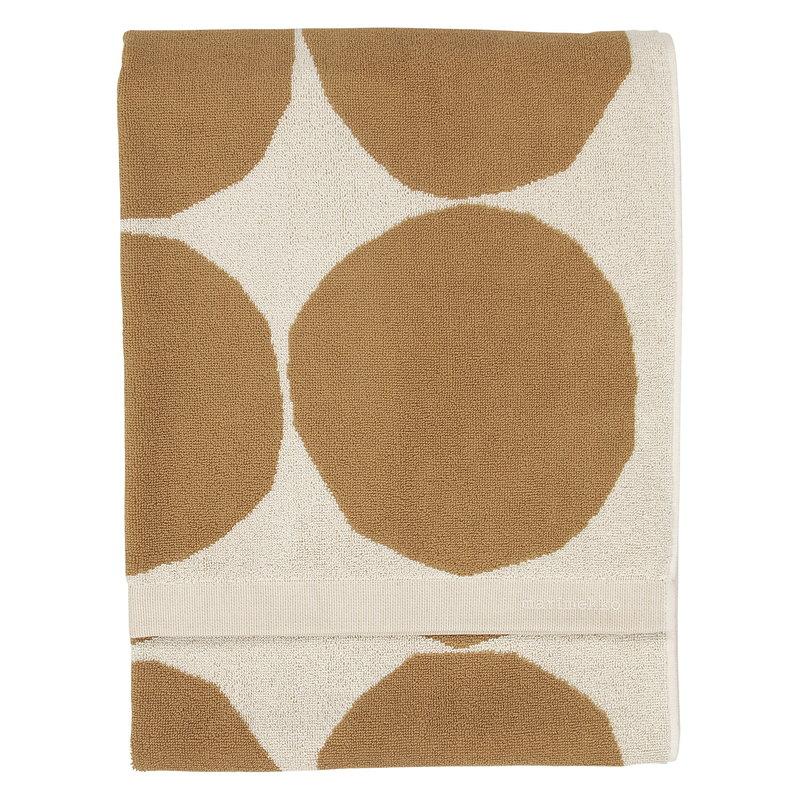 Marimekko Kivet bath towel, 70 x 140 cm, cotton - beige