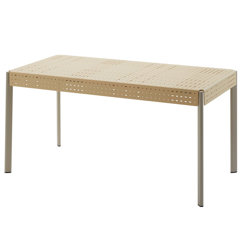 Skagerak Gerda table 140, ivory - pebble grey