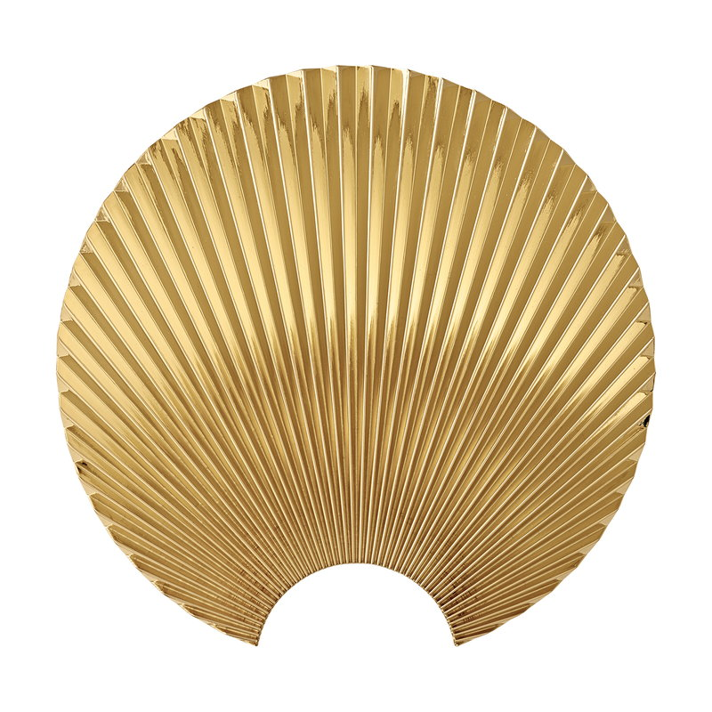 AYTM Concha wall hook L, gold