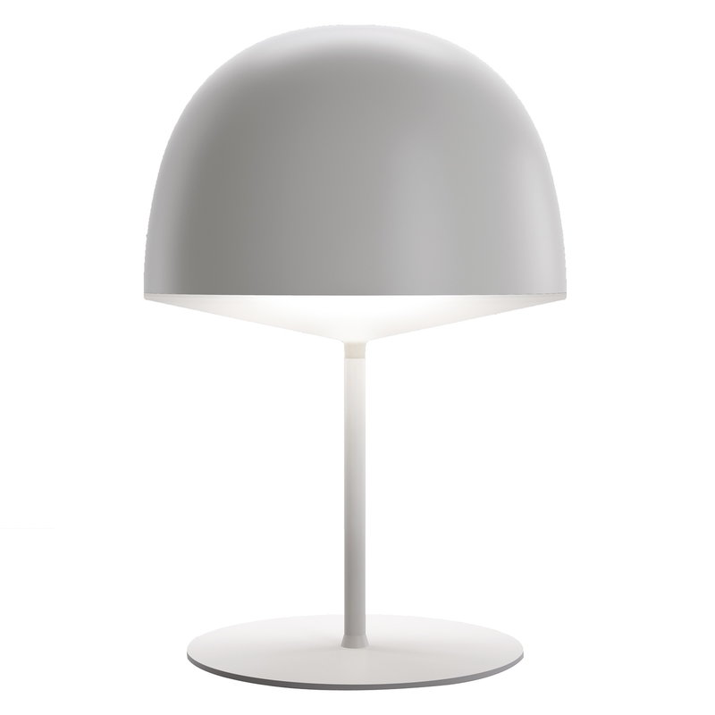 FontanaArte Cheshire table lamp, white