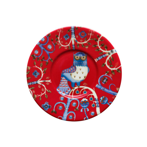 Iittala Taika saucer 15 cm, red