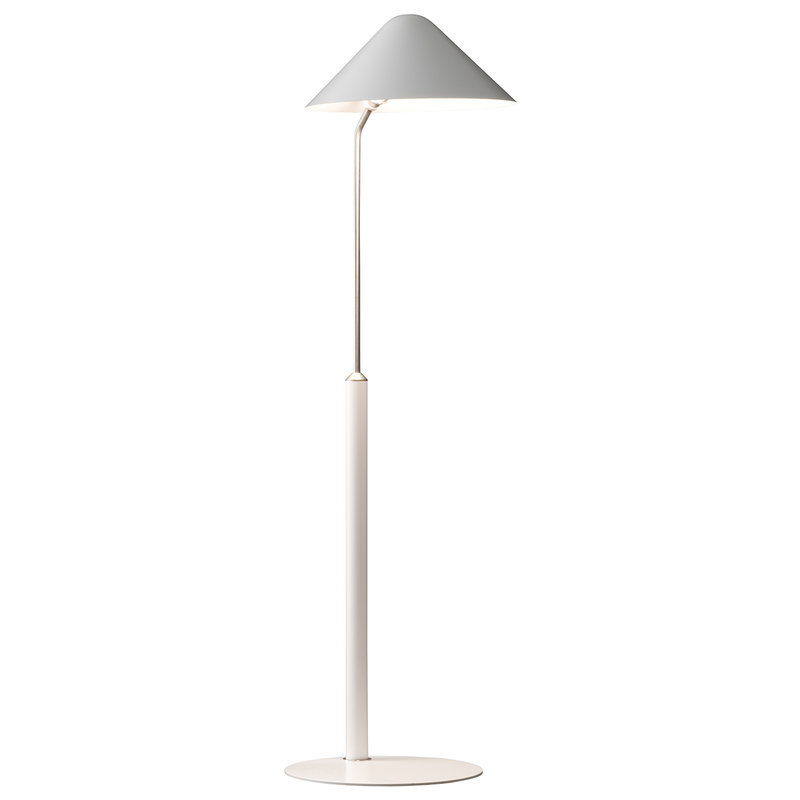 Pandul Floor Vip Lamp White, What Floor Lamp Gives Off The Most Light