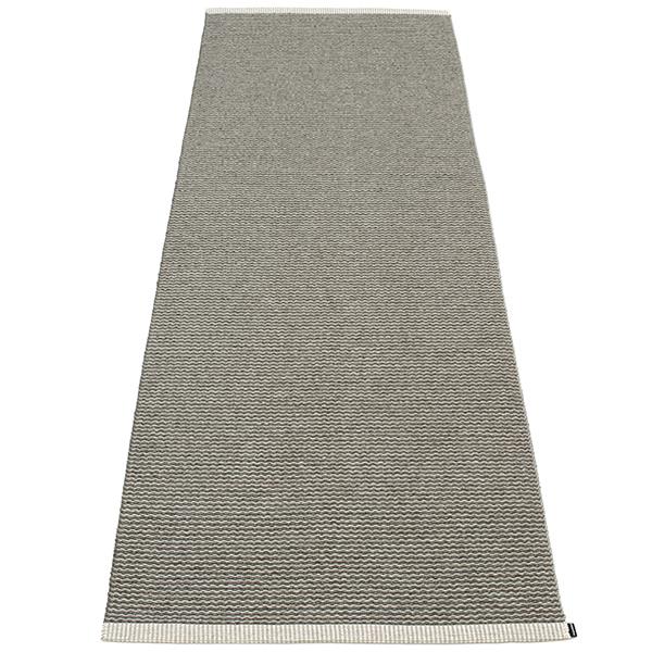Pappelina Mono rug, 85 x 260 cm, charcoal