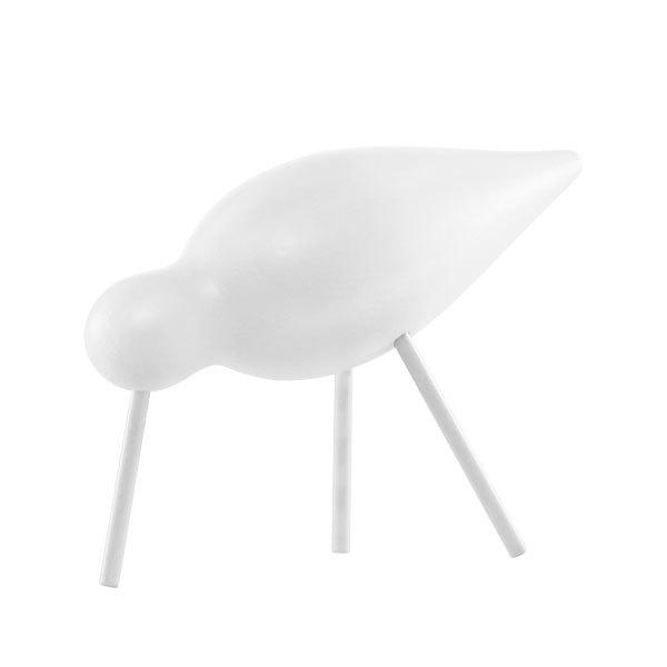 Normann Copenhagen Shorebird, keskikokoinen, valkoinen