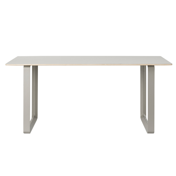 Muuto 70/70 table, 170 x 85 cm, linoleum/laminate