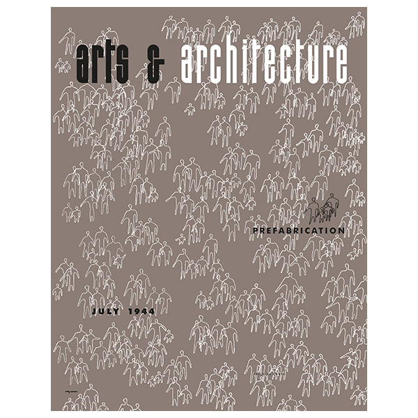 Vitra Cover Print juliste, Arts & Architecture, July 1944