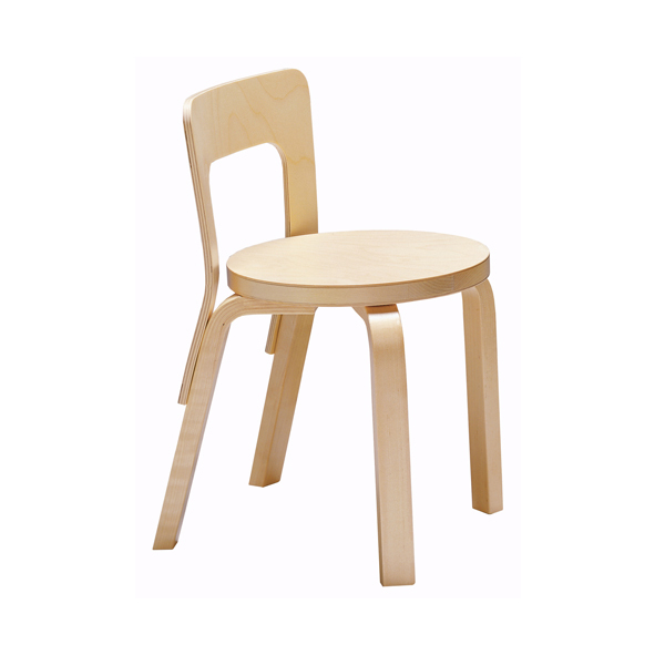 Artek Aalto children's chair N65, birch | Finnish Design Shop