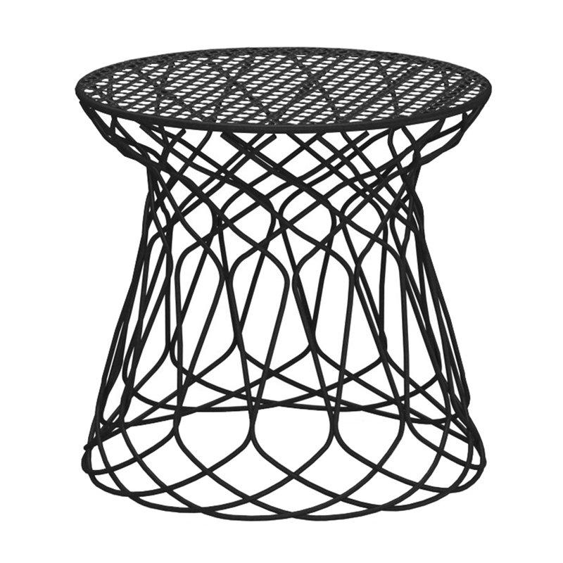 Emu Re-Trouve stool / side table, black