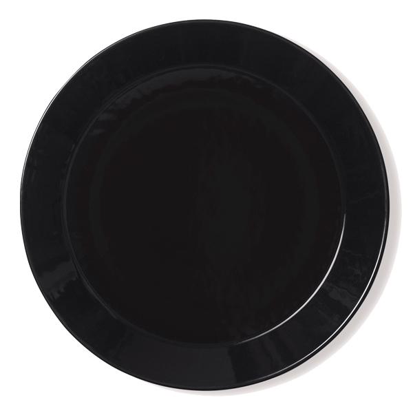 Iittala Teema plate 26 cm, black