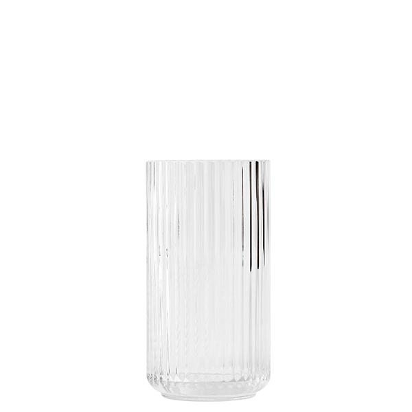 Lyngby Porcelain Lyngby glass vase, 20 cm, clear