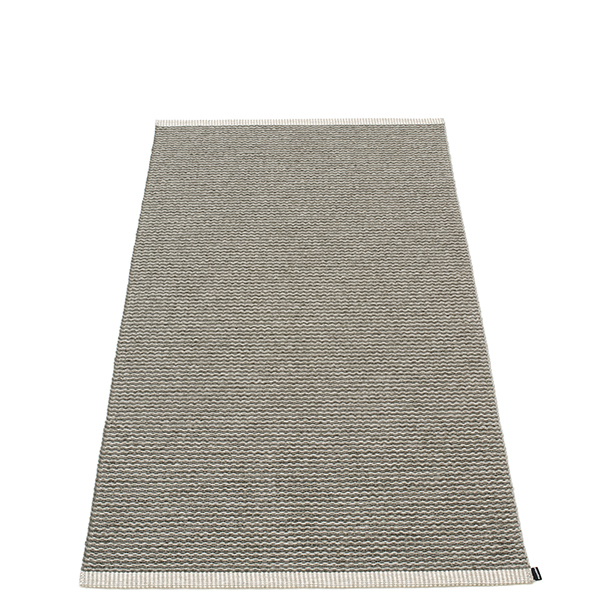 Pappelina Mono rug, 85 x 160 cm, charcoal