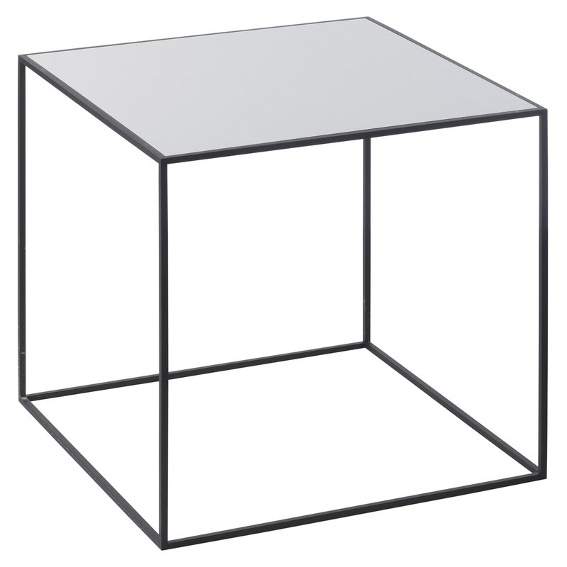 By Lassen Twin 42 table black, grey/black stained ash