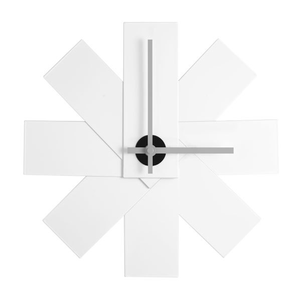 Normann Copenhagen Watch Me clock, white