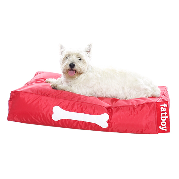 Fatboy Doggielounge dog bed, small, red
