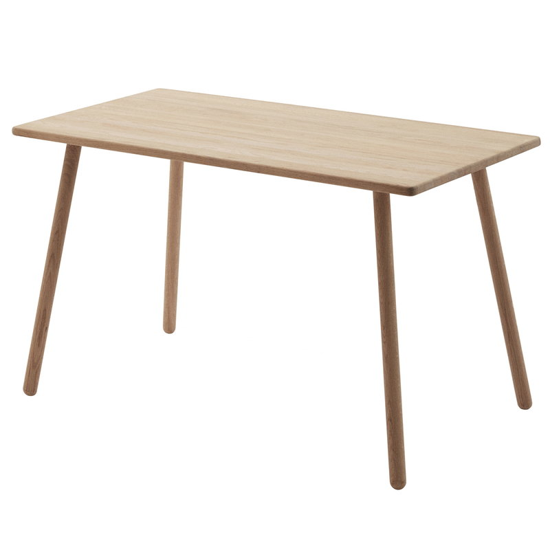 Skagerak Georg desk, 4 legs, oak