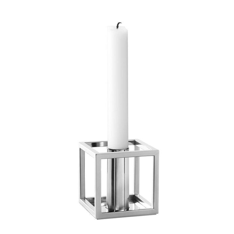 By Lassen Kubus 1 candleholder, nickel