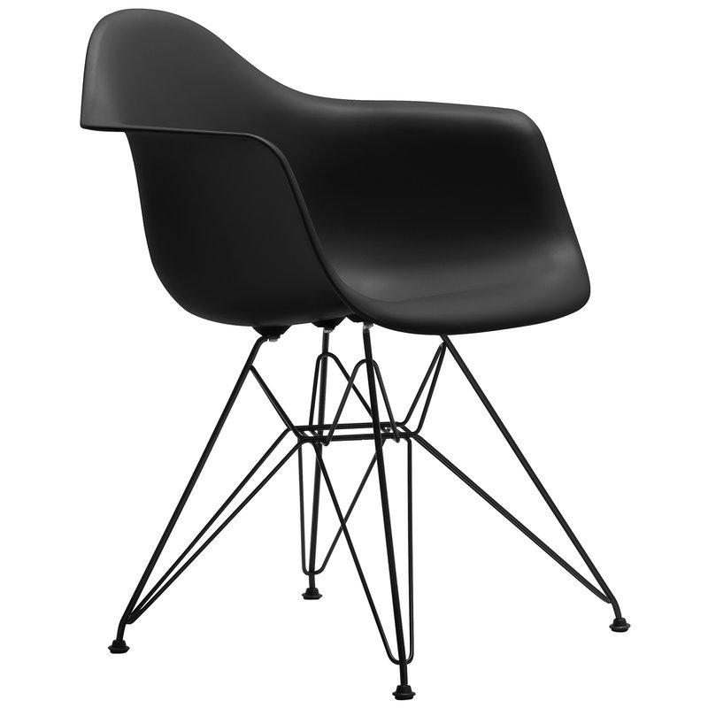 Vitra Eames DAR chair, basic dark