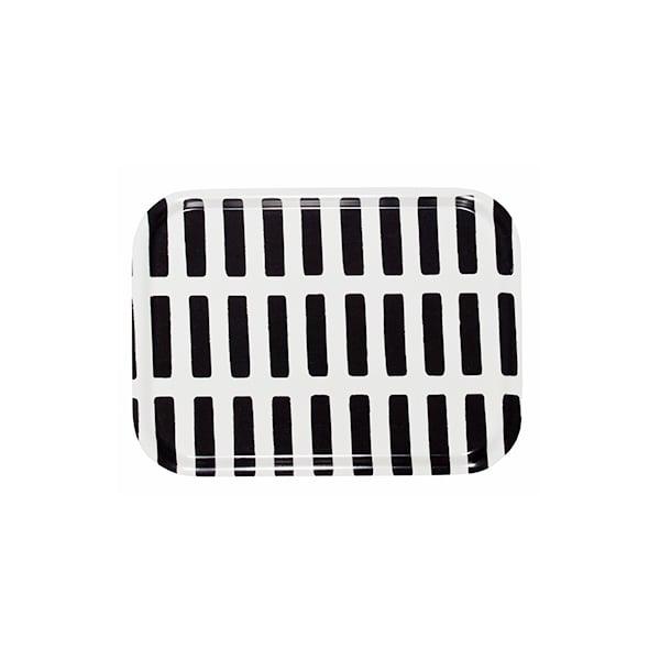 Artek Siena tray 27x20cm, white-black