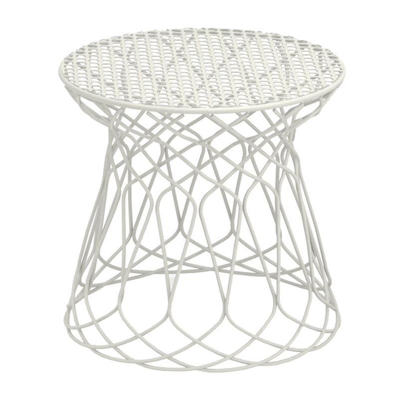 Emu Re-Trouve stool / side table, matt white