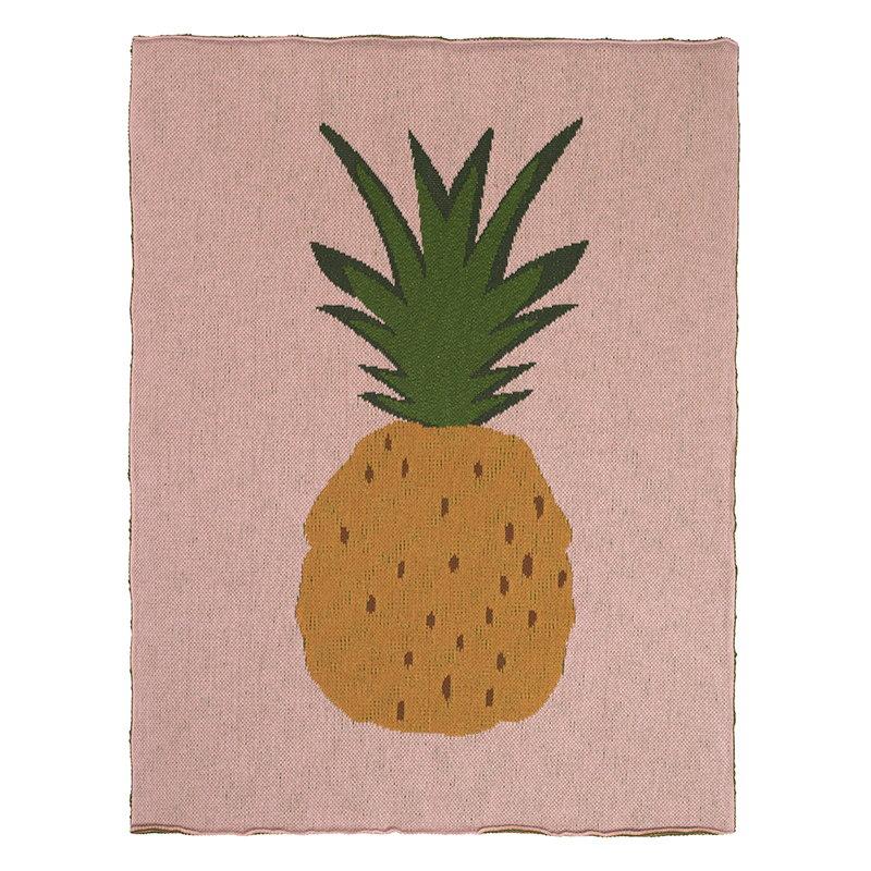 Ferm Living Pineapple blanket