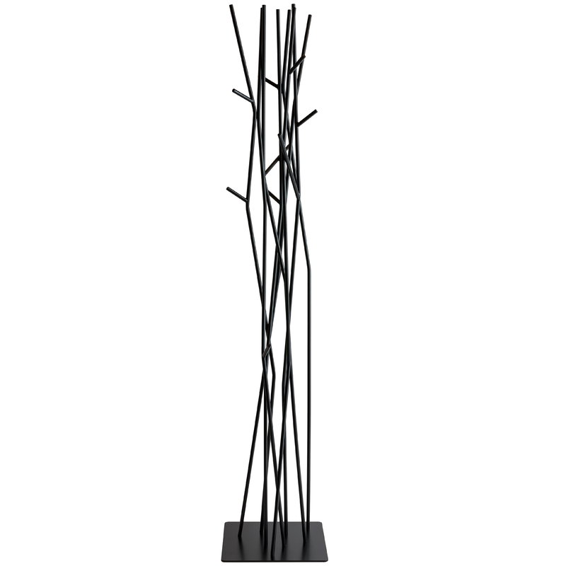 Covo Latva coat stand, black