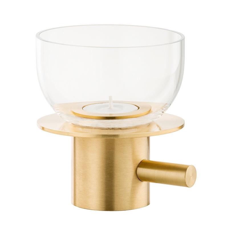 Fritz Hansen JH tealight candleholder, brass