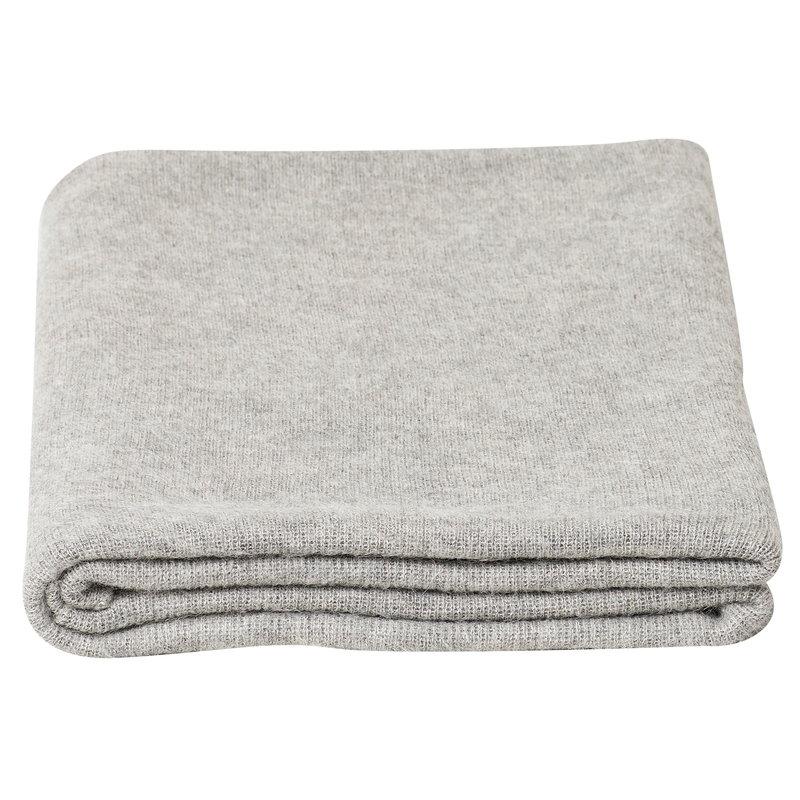 Form & Refine Aymara blanket, light grey