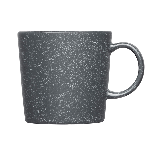 iittala teema mug 0 3 l dotted grey finnish design shop. Black Bedroom Furniture Sets. Home Design Ideas