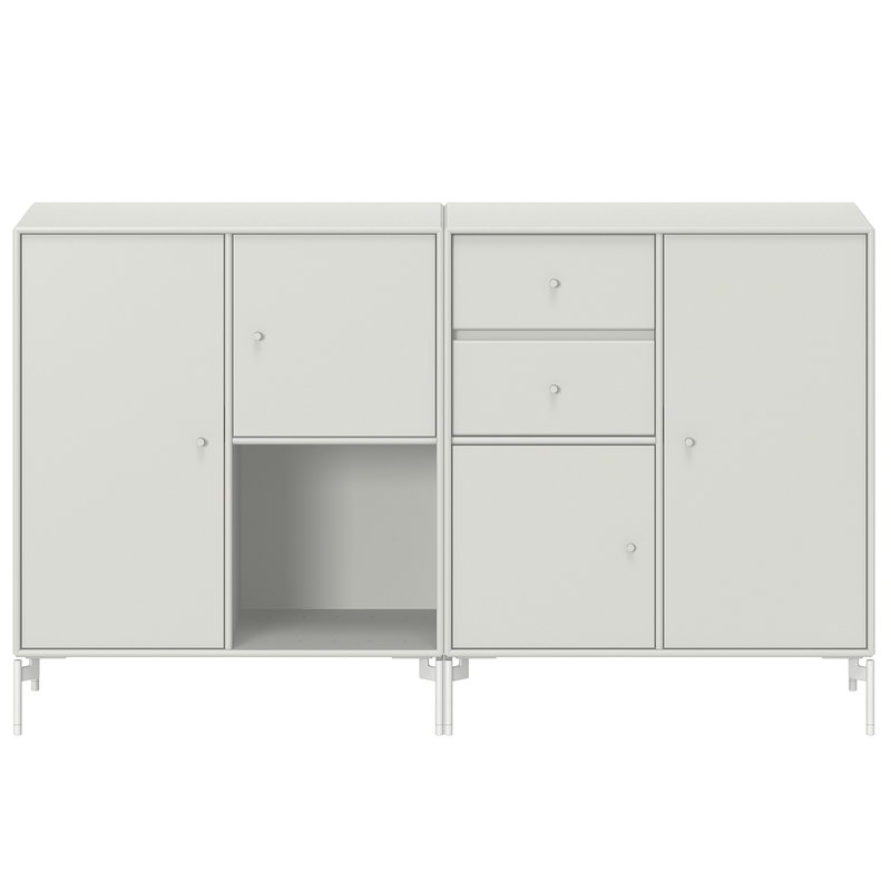 Montana Furniture Couple senkki, Snow jalat - 09 Nordic