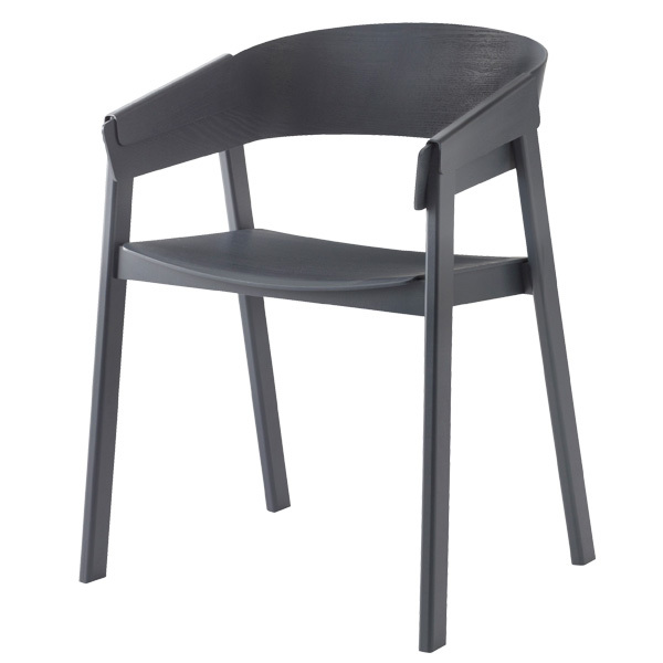 Muuto Cover armchair, dark grey