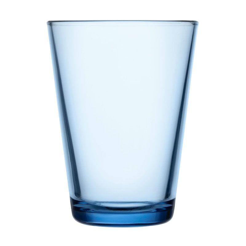 Iittala Bicchiere Kartio 40 cl, 2 pz, blu acqua