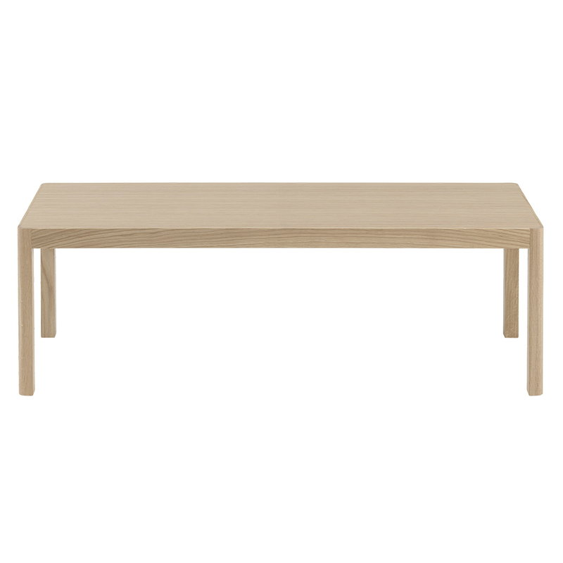 Muuto Workshop coffee table, 120 x 43 cm, oak