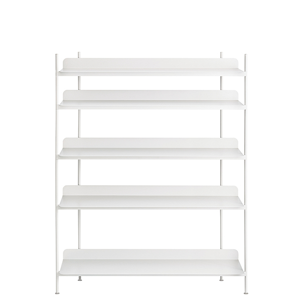 Muuto Compile shelf, Configuration 3, white
